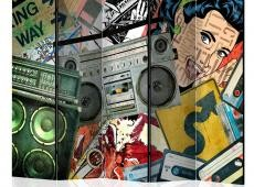 Paraván - Graffiti girl II [Room Dividers]